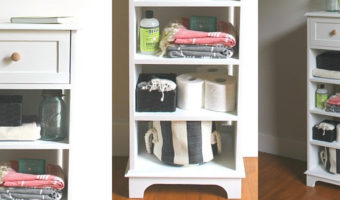 Tall & Skinny Storage Cabinet