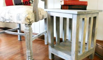 How to Build a Simple Mission Style End Table