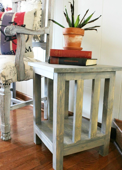 Nice How to Build a Simple Mission Style End Table