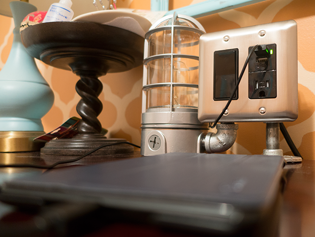 Industrial USB Charging Station - Best Lighting DIYs