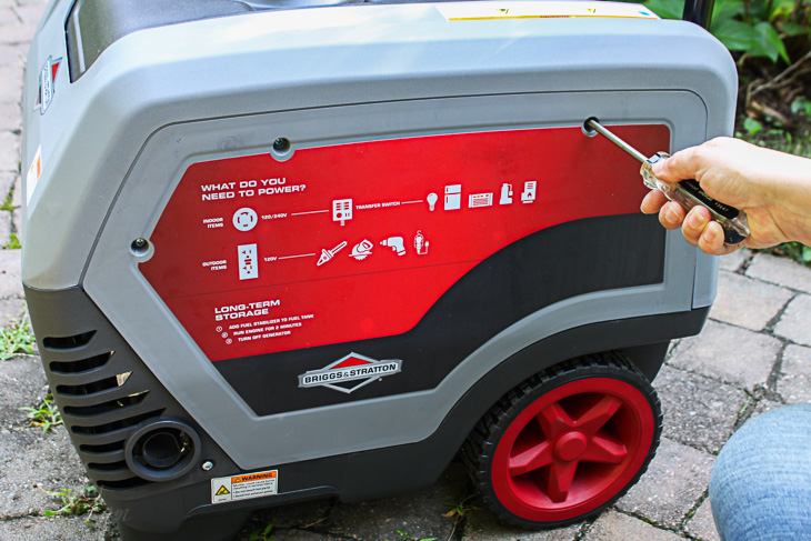How to Safely Use and Store a Generator   Pretty Handy Girl