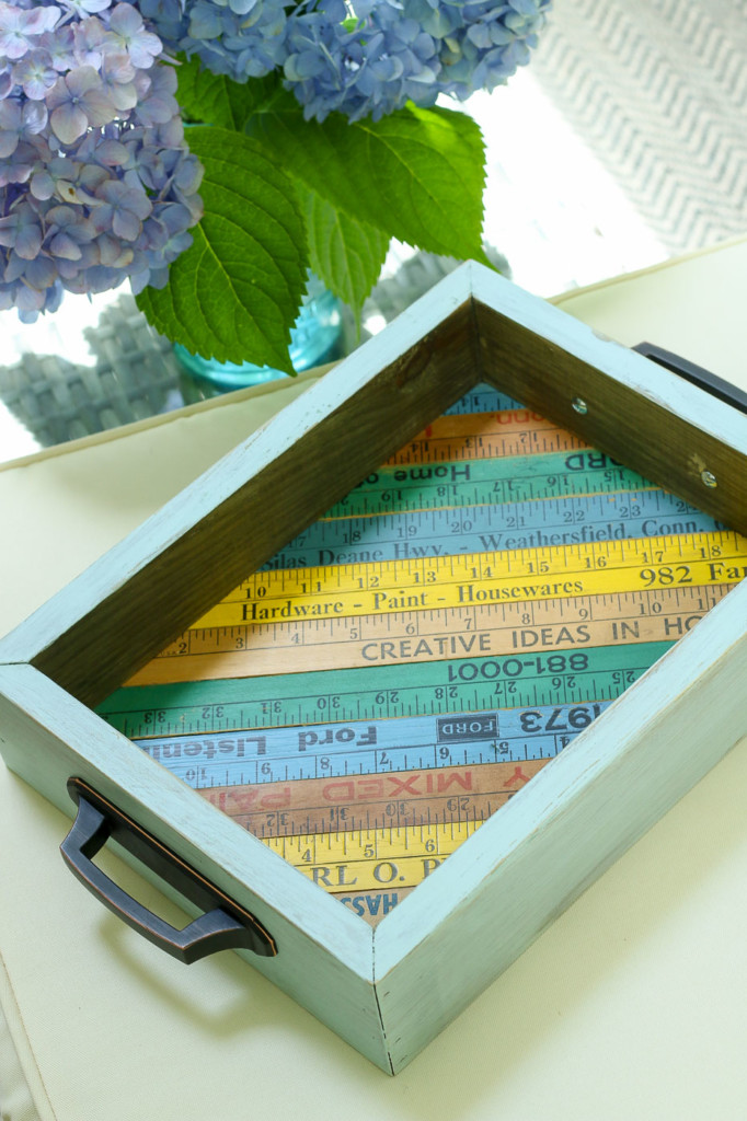 diy-vintage-ruler-tray-on-ottoman