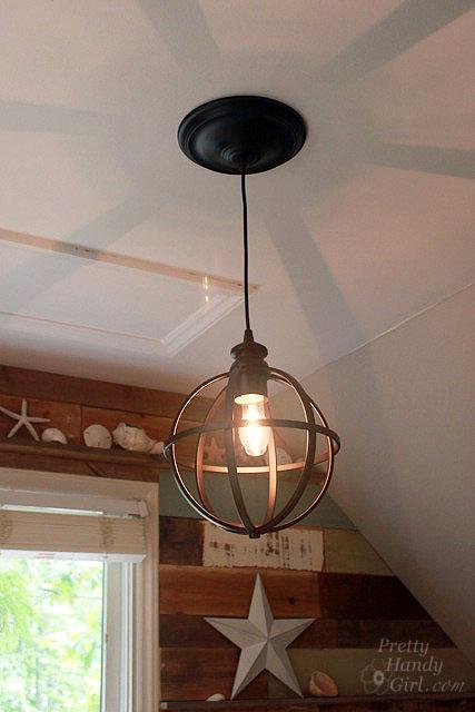 Converting Recessed Light to Pendant Light - Best Lighting DIYs - Pretty Handy Girl