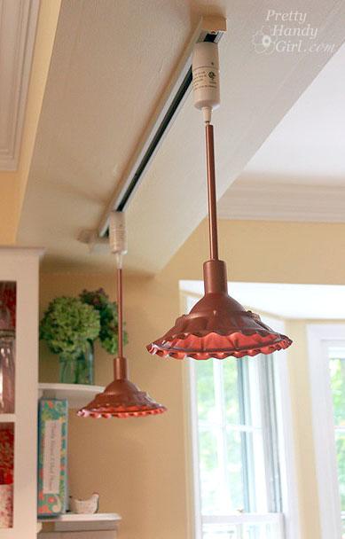 DIY Copper Pendant Light - Best Lighting DIYs - Pretty Handy Girl