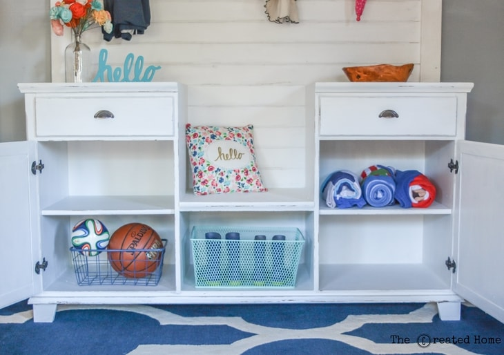 diy mobile mudroom farmhouse shiplap the created home