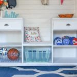 DIY Mobile Mudroom