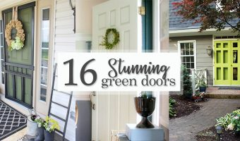16 Stunning Green Doors - Social Media imag16e
