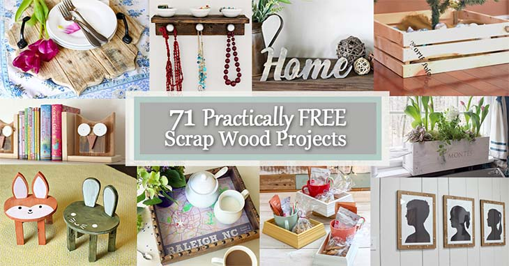 71 Practically Free Scrap Wood Projects Pretty Handy Girl