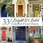 Bright and Bold Colorful Front Doors Social Media Image
