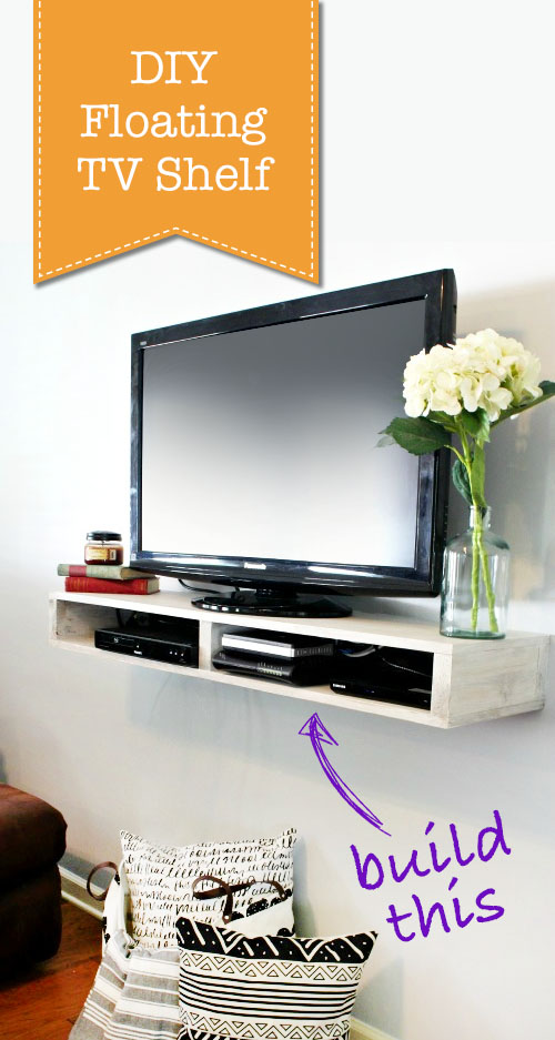 Tv Shelf Part - 49: How To Build A Floating TV Shelf