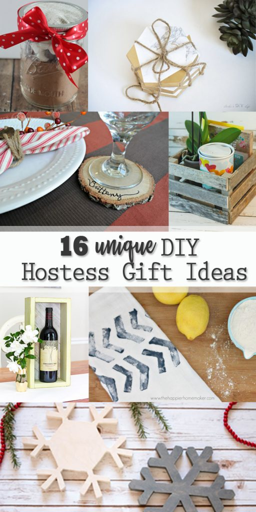 16 Unique DIY Hostess Gift Ideas - Pretty Handy Girl