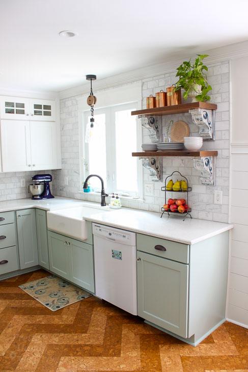 Saving Etta: Kitchen Cabinet Decision and Install