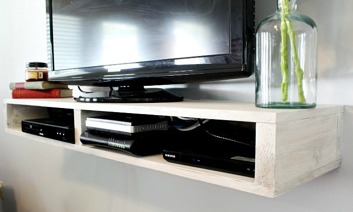 Floating Tv Shelf
