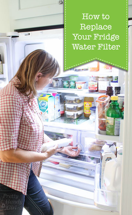 how to replace refrigerator water filters