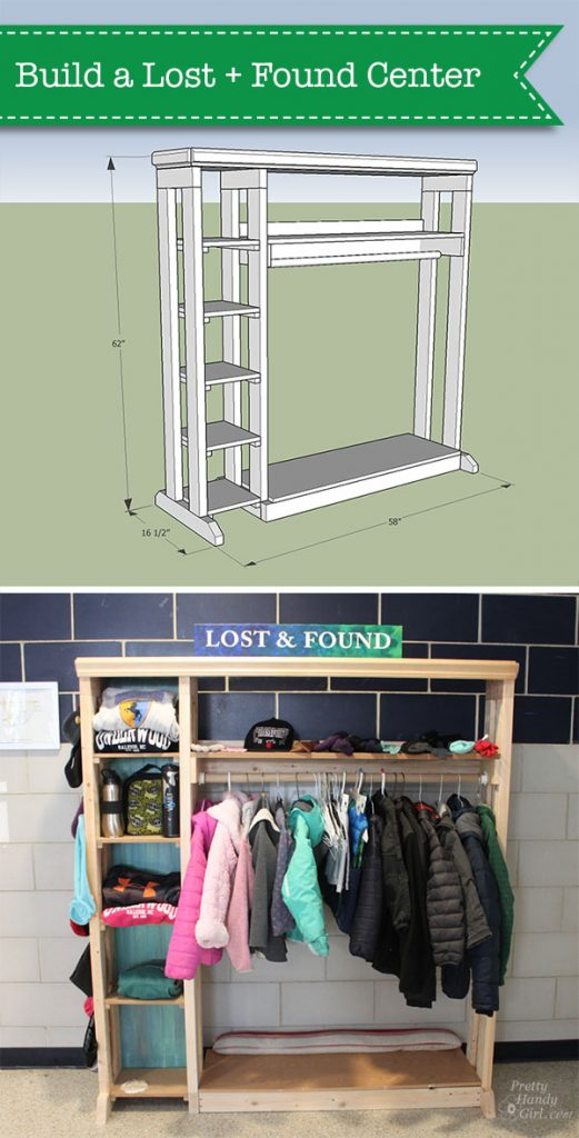 plans to build a lost and found center