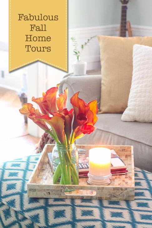 8 Fabulous Fall Home Tours