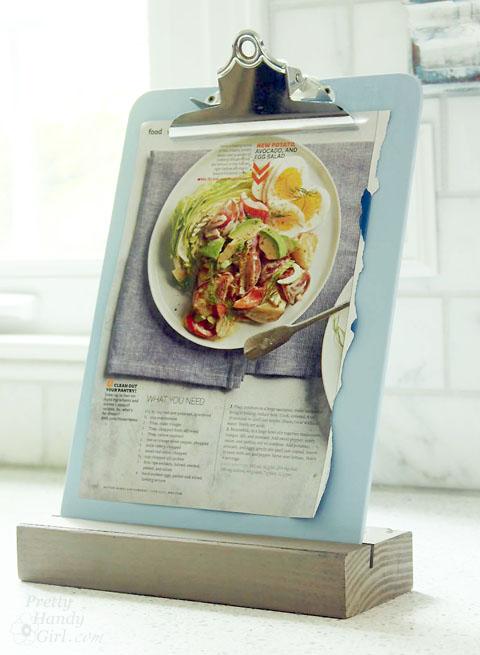 recipe clipboard stand