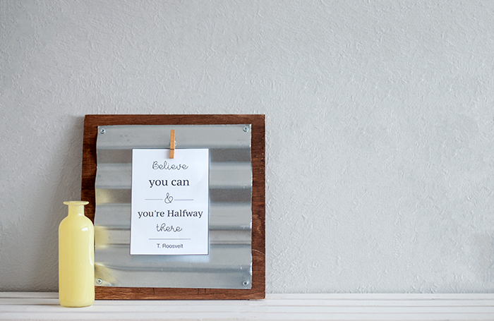 How to make a custom industrial display frame