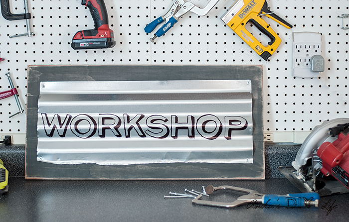 How to make a custom industrial sign