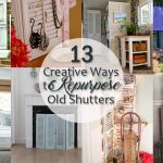 13 Creative Ways to Repurpose Old Shutters