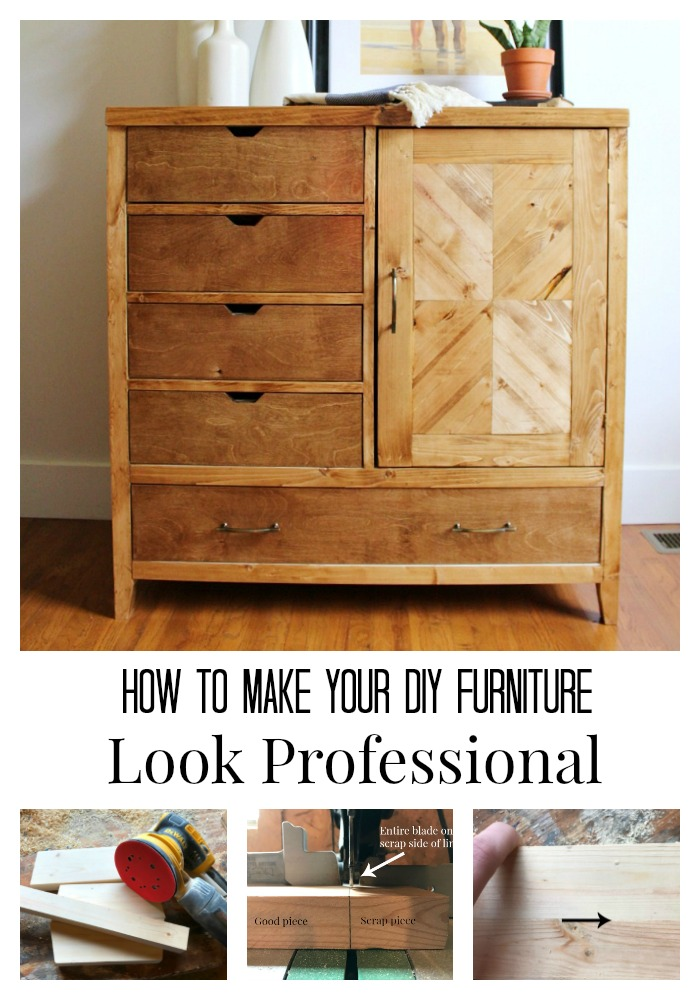 5 Tips to Building Professional Looking Furniture Pretty