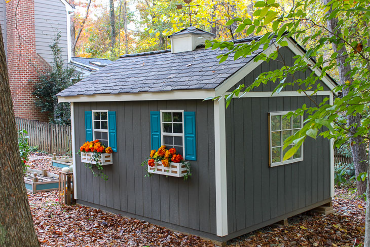 How to Build this Cute Garden Shed
