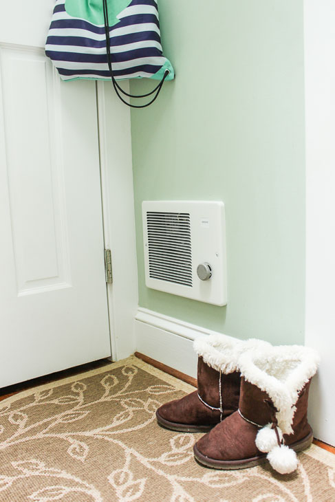 Warm Solution for Cold Rooms in Your House wall heater complete