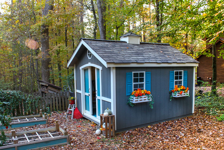 Genial How I Built This Adorable Garden Shed