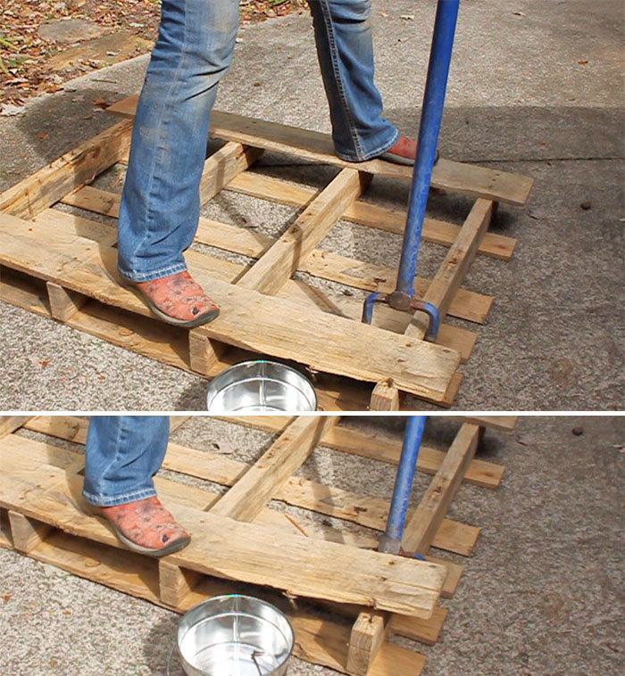 6 of the Easiest Ways to Remove Pallet Wood