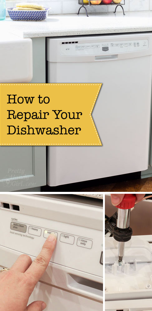 How to Repair a Dishwasher
