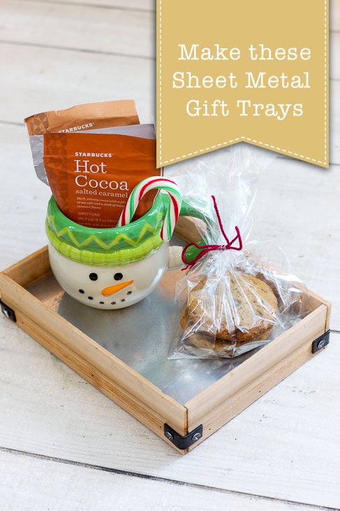 DIY Sheet Metal Gift Trays