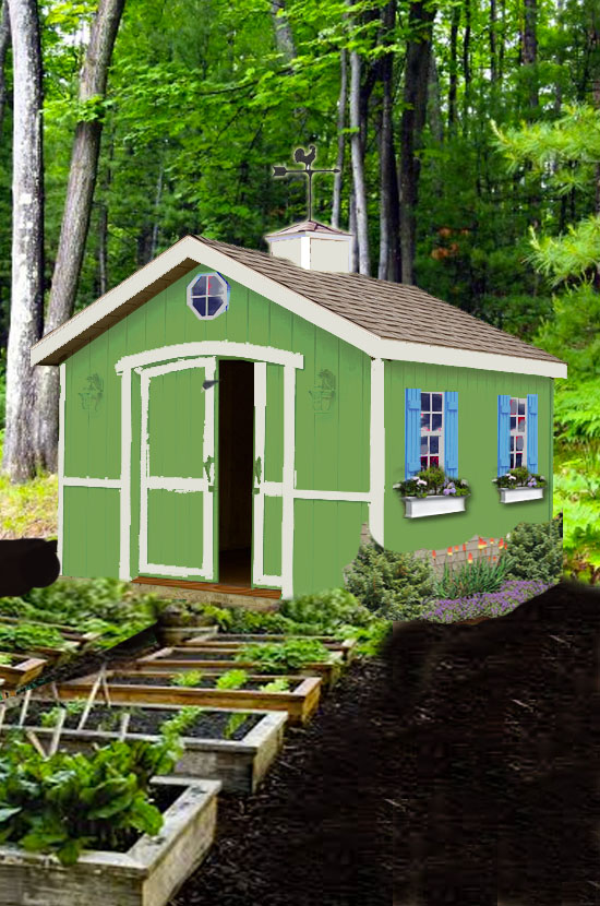 Proposed Shed Design