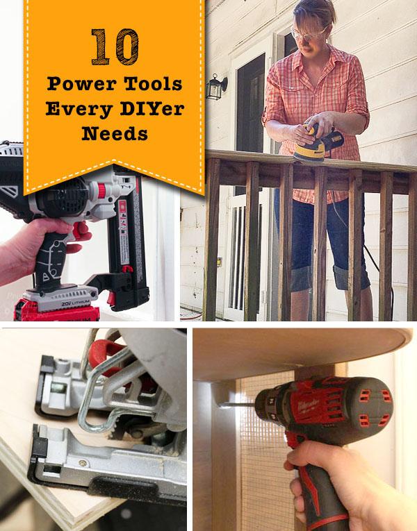 Top 10 Power Tools Every DIYer Needs