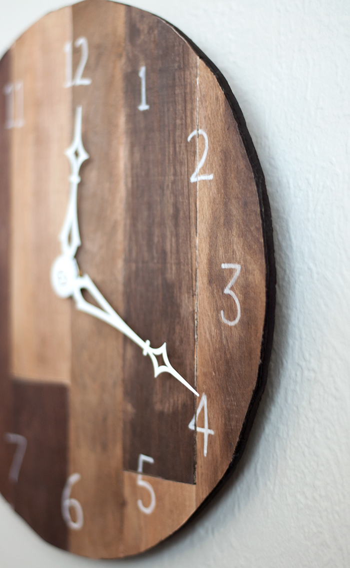 Diy Scrap Plywood Wall Clock Pretty Handy Girl