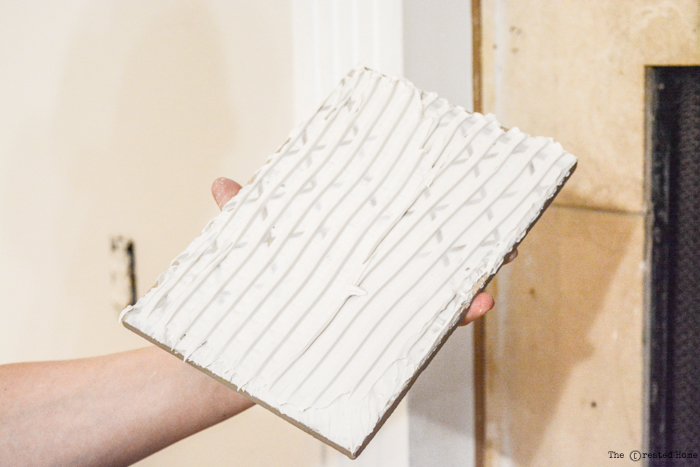 How to Tile a Fireplace - Pretty Handy Girl