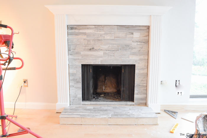 How to tile a fireplace pretty handy girl how to tile a fireplace tyukafo