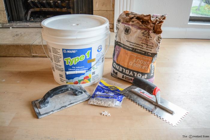 tiling supplies