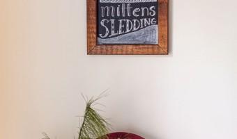 Free Winter Chalkboard Art Printable