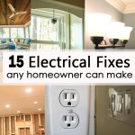 15 electrical fixes any homeowner can make social media image