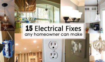 15 Electrical Fixes Any Homeowner Can Make