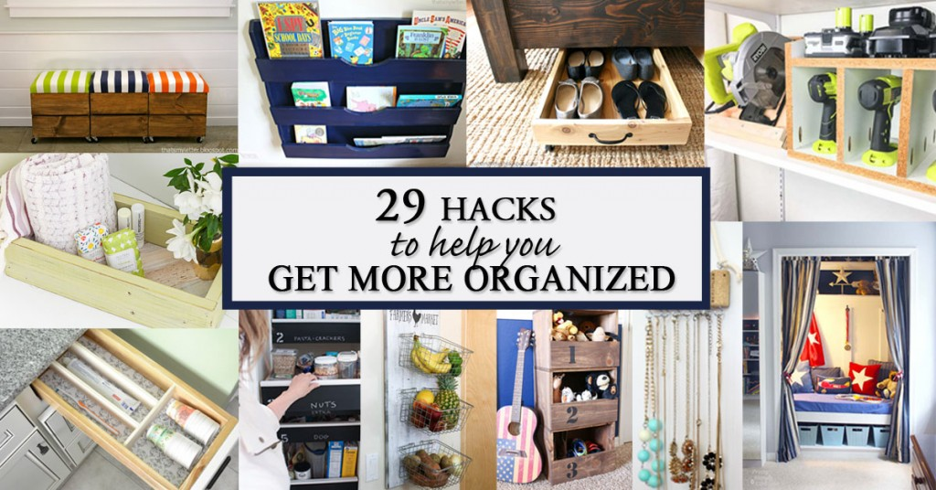 29 hacks to help you get more organized social media image