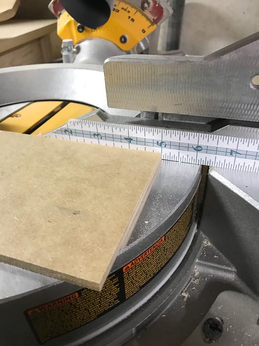 """DIY Concrete Desk Organizer - cut two pieces 5"""" long"""