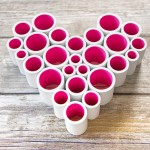PVC Pipe Heart Decoration