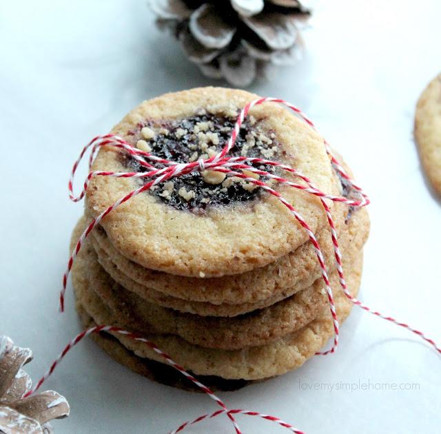 Easy Jam Sugar Cookies from Love My Simple Home