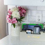 How to Turn a Desk Organizer into a Charging Station