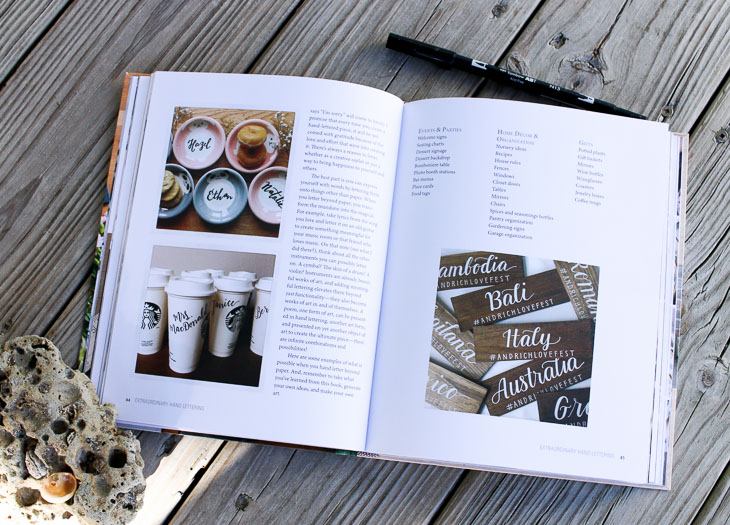 Extraordinary Hand Lettering Gift Ideas 2