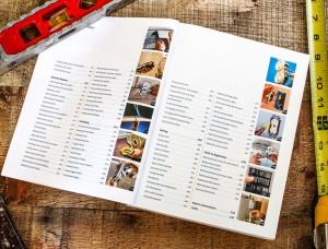 Contents of Home Repair book