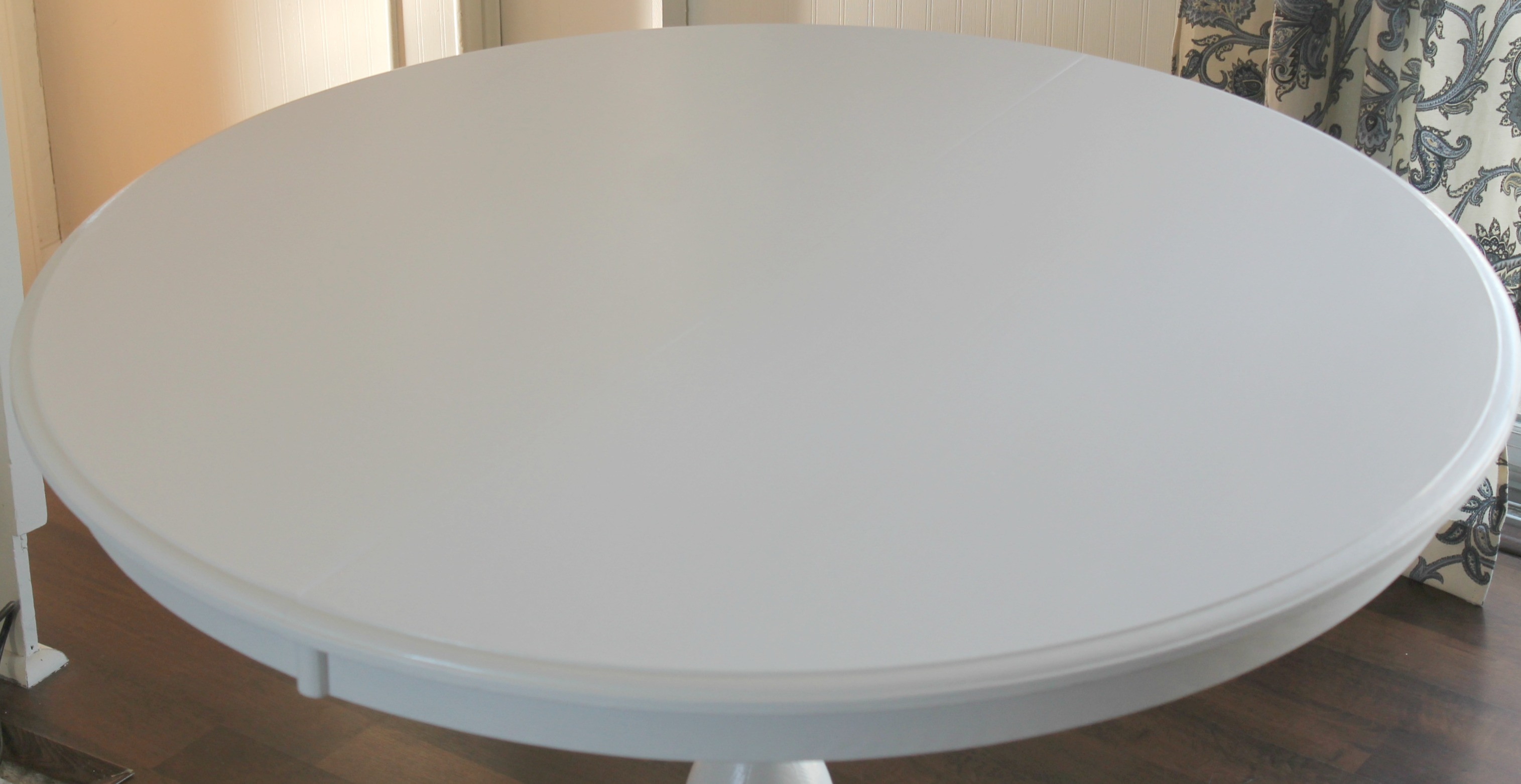 painted table top round