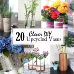 Clever DIY Upcycled Vases