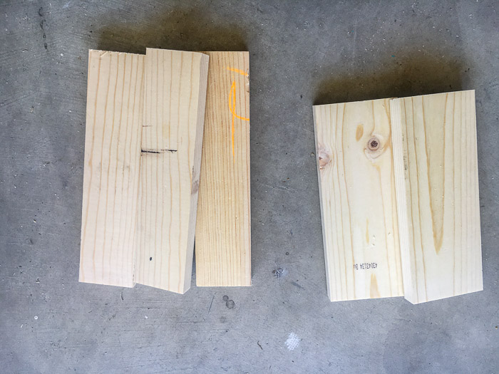 Lumber to build a laptop stand